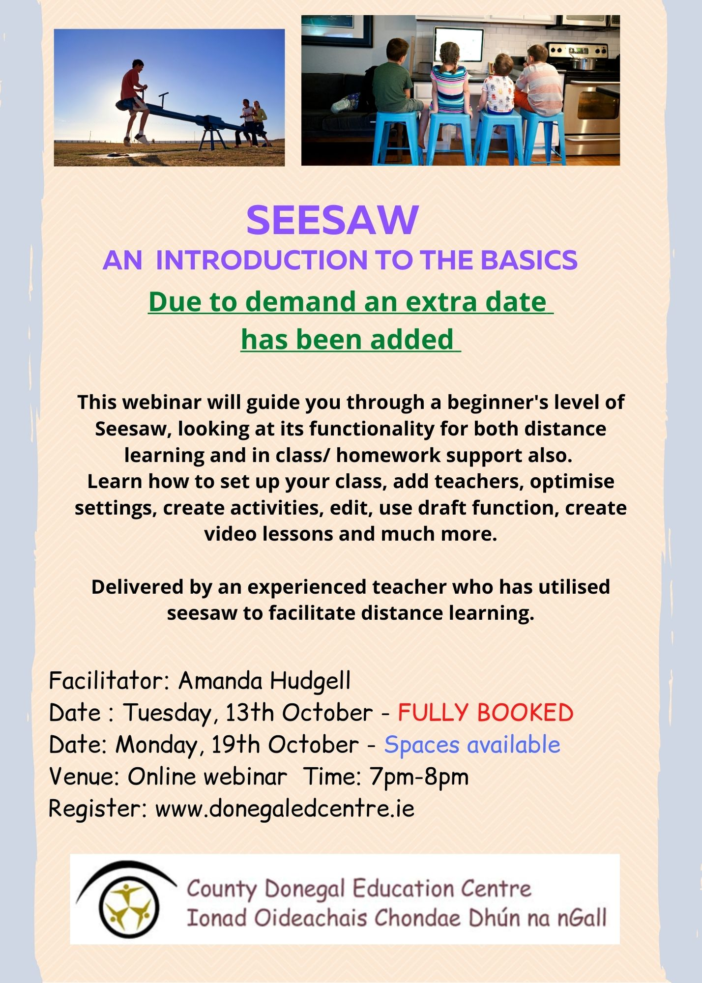Seesaw 19 October